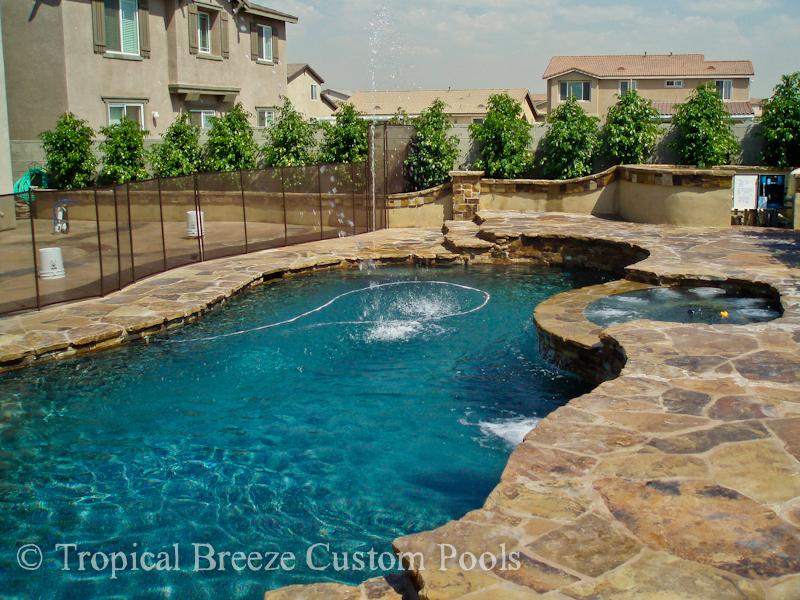 Pools tropical breeze custom pools for Tropical pools